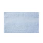 輕柔美國棉毛巾-藍 34x80cm
