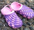 (e鞋院)園丁鞋/布希鞋-女紫...