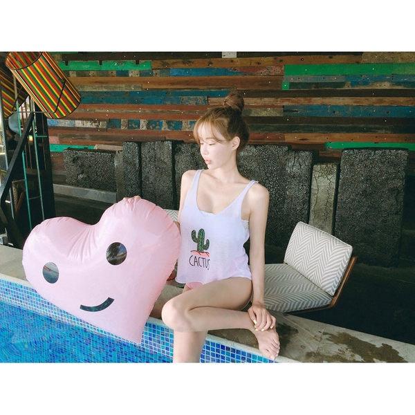 泳裝 比基尼 泳衣 花朵平口高腰性感兩件式泳衣【SF1709】 BOBI  04/13