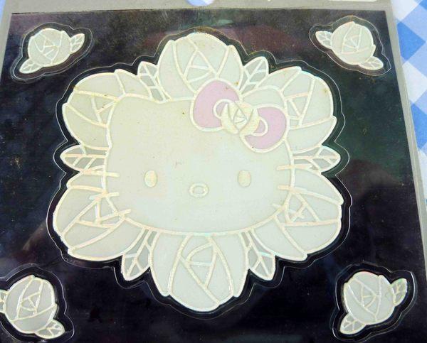 【震撼精品百貨】Hello Kitty 凱蒂貓~KITTY貼紙-蕾絲