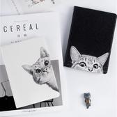 ipad保護套mini4蘋果平板殼套可愛貓【奇趣小屋】