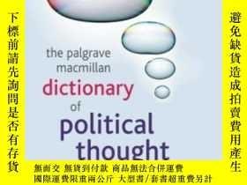 二手書博民逛書店The罕見Palgrave Macmillan Dictionary Of Political Thought