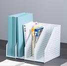書架 收納盒學生用伸縮書架桌上書立簡易桌面辦公置物架立式文件資料架【快速出貨八折下殺】