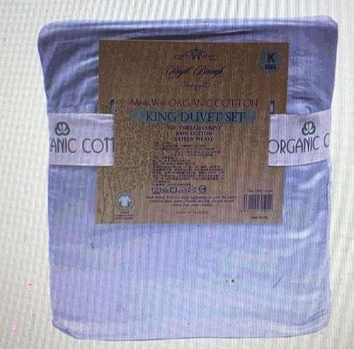 [COSCO代購] C131414 ROYAL BOROUGH 350織有機棉床包被套6件 雙人加大 (TW KING SIZE)