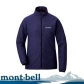 【Mont-Bell 日本 女 LIGHT SHELL Jacket 風衣夾克《午夜藍》】1106644/速乾外套/防風性