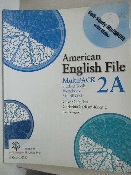 【書寶二手書T1/語言學習_E3O】American English File Level 2: Student Book... (A)