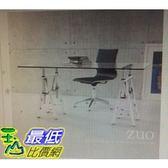 [COSCO代購] 促銷至9月24日 Zuo 簡約可調式玻璃書桌 _W114414