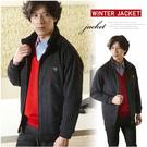 【大盤大】男 J27829 黑色外套 仿麂皮 保暖 防風 修身 夾克 顯瘦 約會 專業 年節 父親節【僅剩M號】