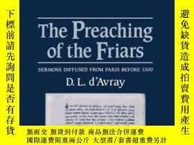 二手書博民逛書店The罕見Preaching Of The Friars: Se