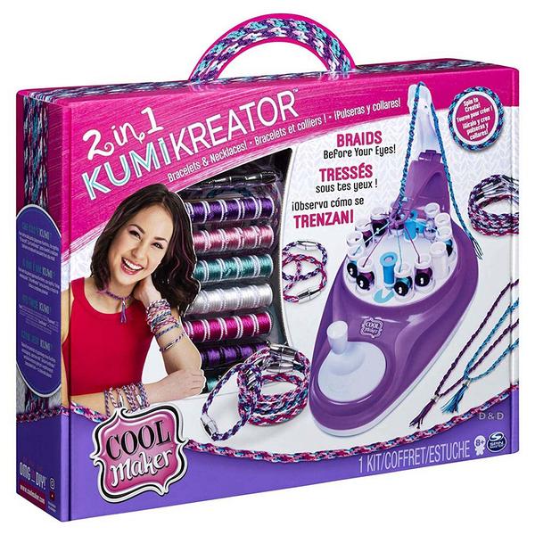 《 Cool Maker 》Kumi Kreator 2合一幸運手環編織機╭★ JOYBUS玩具百貨