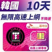 【TPHONE上網專家】韓國 高速上網卡 10天無限上網吃到飽-使用當地SK最大電信基地台