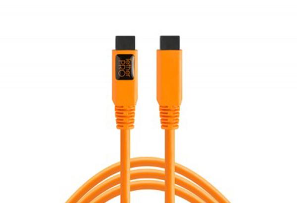 黑熊館 Tether Tools FW88ORG FIREWIRE 傳輸線 800/800 9 to 9 pin 4.6M