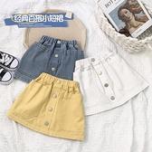 女童牛仔半身裙韓版時尚女孩中小兒童A字小短裙