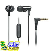 [美國直購] Audio-Technica 入耳式耳機 ATH-CLR100iSBK SonicFuel In-Ear Headphones Microphone & Control, Black