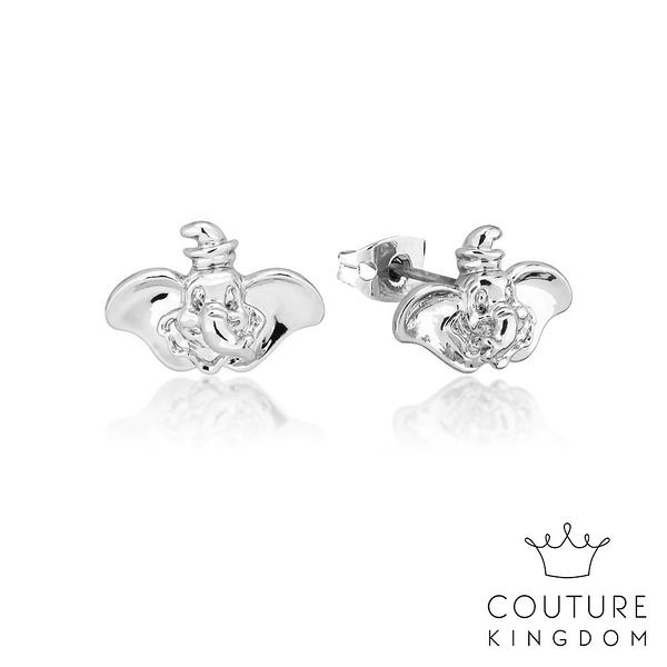 Couture Kingdom 迪士尼小飛象鍍14K白金耳釘 Dumbo Earrings