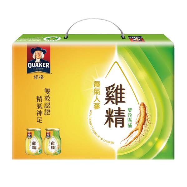 桂格養氣人蔘雞精-禮盒裝(68ml*8瓶/盒)【杏一】
