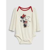 Gap女嬰搭肩圓領迪士尼套頭長袖連體衣525853-象牙色