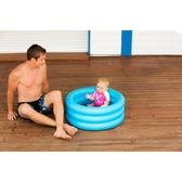 迪卡儂兒童寶寶嬰兒幼兒充氣泳池游泳池便捷戲水洗澡池NAB E