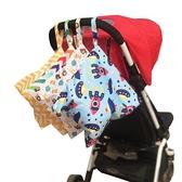 嬰兒收納掛袋尿布袋外出防水床頭收納包【步行者戶外生活館】