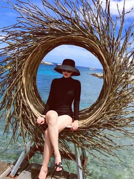 草帽 遮陽帽防曬度假海邊沙灘帽子女夏大檐太陽帽