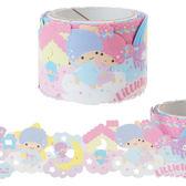 日本雙子星紙膠帶裝飾膠帶蕾絲彩虹445273通販屋