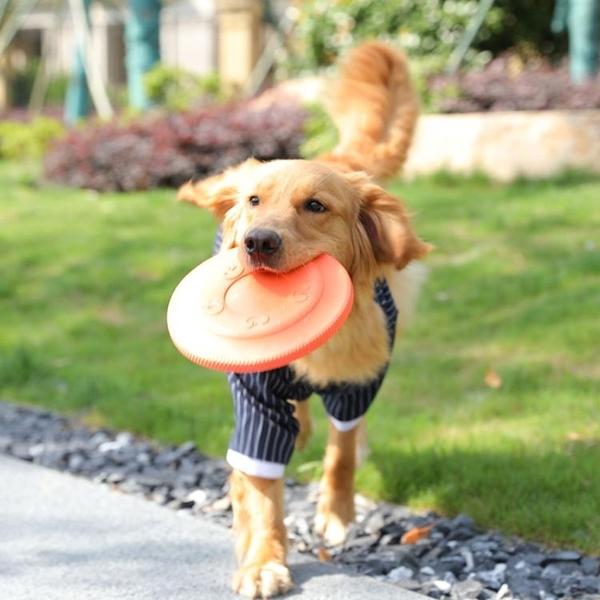 狗狗玩具飛盤軟大型犬訓犬專用品飛碟 全館免運