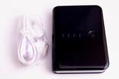 QLA MP-900/MP900 9000mah 雙USB行動電源/移動電源/移動電池 黑 適用 HTC Desire(A8181)/HD mini(T5555)/HD2(T8585)
