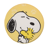 HOLA Snoopy系列圓形記憶棉坐墊-史努比