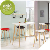【YUDA】伊絲 4尺  餐桌  /吧台桌  /  休閒桌  J9M 1019-1