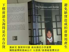 二手書博民逛書店Doing罕見business with korea與韓國做生意