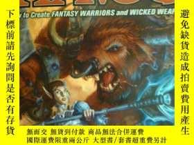 二手書博民逛書店英文原版罕見遊戲漫畫書 Wreaking Havoc: Create Fantasy Warriors and W