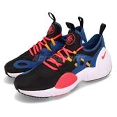 Nike 武士鞋 Huarache E.D.G.E. TXT 藍 黑 全新系列 男鞋 運動鞋【PUMP306】 AO1697-003