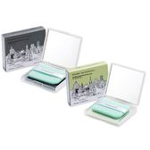韓國 too cool for school 恐龍吸油面紙盒(50張+粉撲) 竹炭/綠茶 款式可選【小三美日】