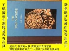二手書博民逛書店THE罕見TIME MACHINE 《時間機器》(H.G.Wel