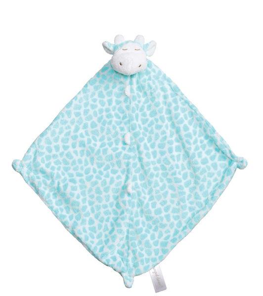 美國Angel Dear 動物嬰兒安撫巾 青綠長頸鹿