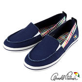Arnold Palmer - 簡約休閒百搭懶人帆布鞋 AP.111-深藍