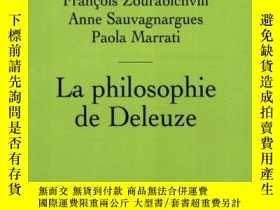 二手書博民逛書店La罕見Philosophie De DeleuzeY364682 Paola Marrati Presses
