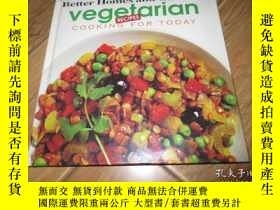 二手書博民逛書店Vegetarian罕見Cooking for todayY57