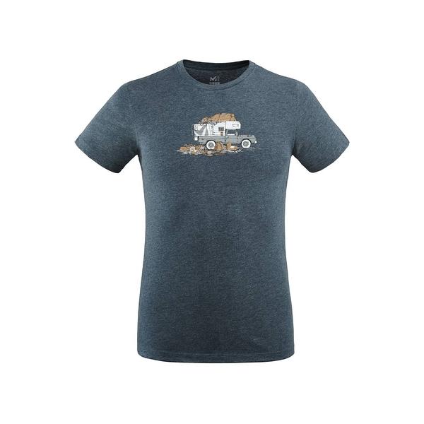 MILLET 男 PACK LOAD 快排短袖T恤 靛藍 MIV83088737【GO WILD】