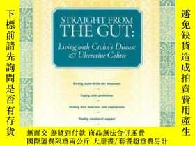 二手書博民逛書店Straight罕見From The GutY256260 Cliff Kalibjian Patient C