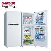 【SANLUX 台灣三洋】192公升雙門定頻冰箱SR-B192B3