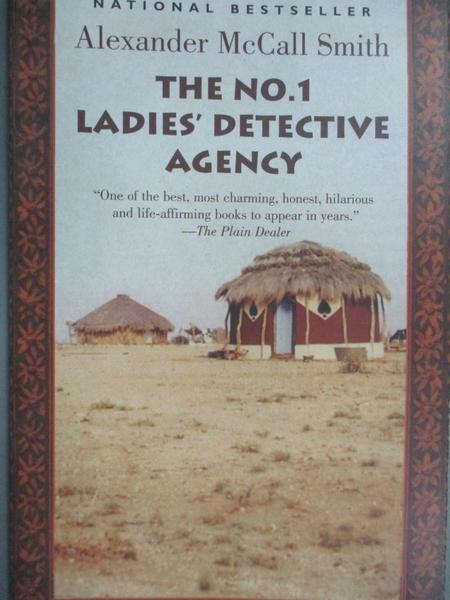 【書寶二手書T5/原文小說_HSV】The No. 1 Ladies Detective Agency_Alexande