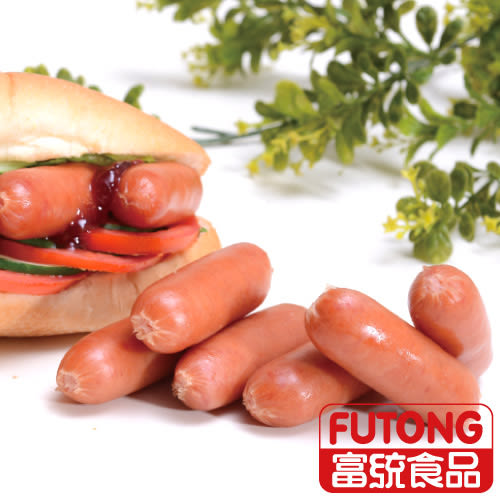 【富統食品】小辣腸2KG(約95粒)