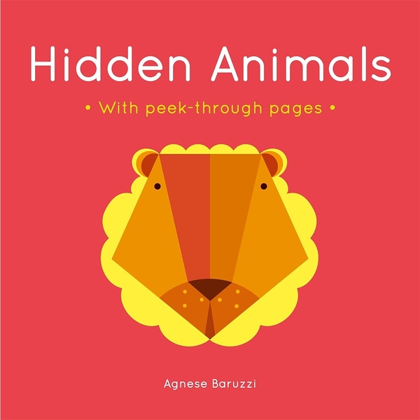 Hidden Animals With Peek-Through Pages 尋找動物 趣味硬頁書