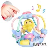 嬰兒玩具小雞音樂故事機牙膠手搖鈴益智早教手抓球-321寶貝屋