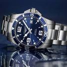 LONGINES深海藍水鬼64小時動力儲...