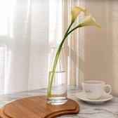 Clear 縮口花瓶H19cm-生活工場