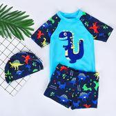 兒童泳衣男童小中大童分體游泳衣寶寶嬰幼兒溫泉泳褲套裝游泳裝備 任選一件享八折