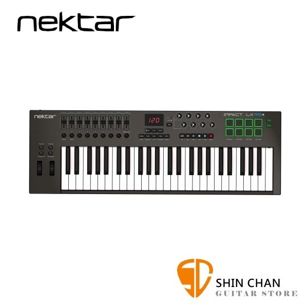 美國品牌 NEKTAR Impact LX49+ 主控鍵盤/MIDI鍵盤 49鍵/49keys 附打擊板功能 【LX49 PLUS】