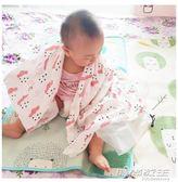 嬰兒抱被子新生兒包被薄款純棉紗布寶寶襁褓包巾春夏季裹布       時尚教主